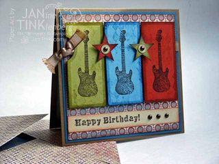 Grunge-Rock-Card