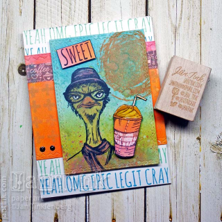 Tim Holtz Hipster Fresh Brewed by JanTink