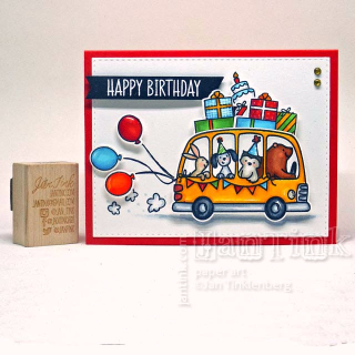 Birthday Bus from Avery Elle by JanTink